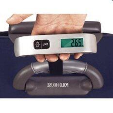 ราคา Meet เครื่องชั่งกระเป๋าเดินทางแบบพกพากระทัดรัด 50Kg 10G Electronic Portable Luggage Scale Pt 106 Meet