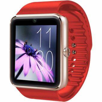 MEGA Fashion Smart Watch with Bluetooth รุ่น SM0053 (Red/Gold)
