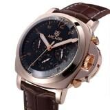 ขาย ซื้อ Megir 3006 30M Water Resistant Male Quartz Watch Brown And Gold Intl Tc Tc