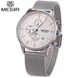 ขาย Megir M2011 ชายควอตซ์มัลติฟังก์ชั่นาฬิกาโครโนกราฟกันน้ำส่องสว่างนาฬิกาข้อมือ นานาชาติ จีน