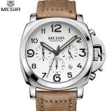 ทบทวน Megir Men Fashion Quartz Watch Analog Wristwatch Man Waterproof Business Watches For Male 3406 Free Shipping Intl