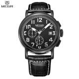 ขาย Megir Simple Stylish Watch Men S Leather Strap Band Quartz Watch Intl Megir เป็นต้นฉบับ