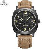 ส่วนลด Megir Sport Watch Genuine Leather Calendar Casual Men S Quartz Business Wristwatch Intl Megir