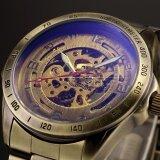 ขาย Men Automatic Mechanical Skeleton Bronze Stainless Steel Analog Wrist Business Sport Watch Pmw369 นาฬิกาข้อมือผู้ชาย สายสแตนเลส รุ่น Intl ออนไลน์ จีน