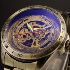 ราคา Men Automatic Mechanical Skeleton Bronze Stainless Steel Analog Wrist Business Sport Watch Pmw369 นาฬิกาข้อมือผู้ชาย สายสแตนเลส รุ่น Intl Unbranded Generic เป็นต้นฉบับ