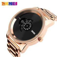 ราคา ผู้ชายธุรกิจเหล็กสายนาฬิกา 1171 Skmei เป็นต้นฉบับ