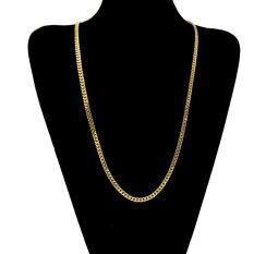 ส่วนลด สินค้า Men Hip Hop Style Popular Necklace 5Mm 70Cm Intl