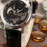 ราคา Men Mechanical Wrist Watch Skeleton Hand Wind Up Roman Leather Strap Pmw356 นาฬิกาข้อมือชาย แฟชั่น สปอร์ต เท่ Intl ออนไลน์ Thailand