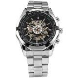 ขาย ซื้อ Men Skeleton Stainless Steel Automatic Mechanical Business Fashion Wrist Watch Pmw101 นาฬิกาข้อมือผู้ชาย สายสแตนเลส รุ่น Intl