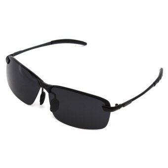 Men's Fashion Tide Male Black-Rimmed Sunglasses Resistance UV Sport Travel
