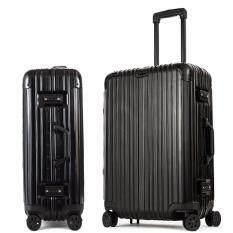 ราคา Merc Gears กระเป๋าเดินทางขนาด 24 นิ้ว โครงอะลูมิเนียม วัสดุ Abs Pc Merc Gears ออนไลน์