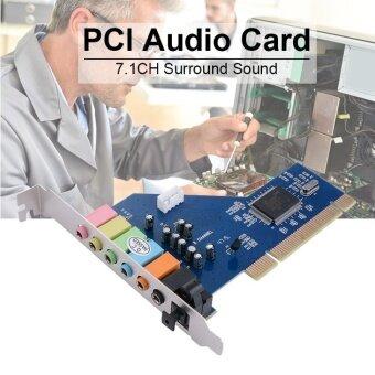 MHS PCI 7.1 ช่อง 7.1Ch Surround 3D การ์ดเสียงเสียง Cmi8768 Chipsetfor PC Ac393