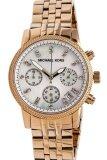 โปรโมชั่น Michael Kors Mk Ladies Damen Chronograph นาฬิกาข้อมือผู้หญิง สีทอง สายสแตนเลส รุ่น Mk5026 ถูก