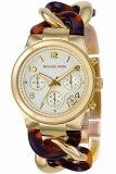 ราคา Michael Kors นาฬิกาผู้หญิง สายสแตนเลสและพลาสติก รุ่น Mk4222