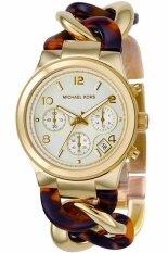 ทบทวน Michael Kors นาฬิกาผู้หญิง สายสแตนเลสและพลาสติก รุ่น Mk4222