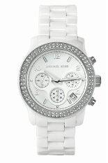 ขาย Michael Kors นาฬิกาข้อมือผู้หญิง สีขาว สายเซรามิก รุ่น Mk5188 Thailand ถูก
