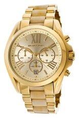 โปรโมชั่น Michael Kors นาฬิกาข้อมือผู้หญิง สายสแตนเลส รุ่น Mk5722 Gold