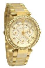 Michael Kors นาฬิกาข้อมือผู้หญิง สายสแตนเลส รุ่น Mk5842 Gold ถูก