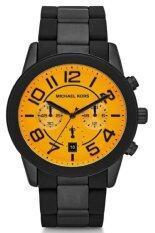 ขาย Michael Kors นาฬิกาผู้ชาย สายซิลิโคนและสแตนเลส รุ่น Mk8328 Black ออนไลน์ ใน กรุงเทพมหานคร
