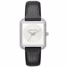 ราคา นาฬิกาข้อมือสุภาพสตรี Michael Kors Women S Lake Black Watch Mk2583