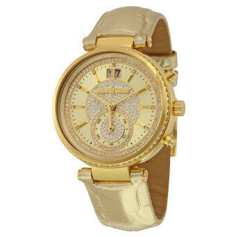 Michael Kors Women's MK2444 Sawyer Gold-Tone Watch