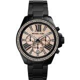 ขาย Michael Kors Women S Everest Mk5879 Black Stainless Steel Quartz Watch Michael Kors เป็นต้นฉบับ