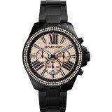 ซื้อ Michael Kors Women S Everest Mk5879 Black Stainless Steel Quartz Watch กรุงเทพมหานคร
