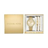 ราคา Michael Kors Women S Mini Darci Gold Tone Stainless Steel Bracelet Watch Gift Set 33Mm Mk3430 เป็นต้นฉบับ Michael Kors