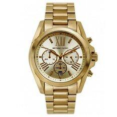 โปรโมชั่น Michael Kors Women S Mk5605 Bradshaw Gold Tone Stainless Steel Watch Michael Kors ใหม่ล่าสุด