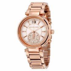 ส่วนลด Michael Kors Women S Mk6282 Sawyer Rose Gold Tone Watch กรุงเทพมหานคร