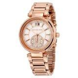 ราคา ราคาถูกที่สุด Michael Kors Women S Mk6282 Sawyer Rose Gold Tone Watch