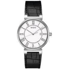 ส่วนลด Mido Dorada นาฬิกาข้อมือผู้ชาย สายหนังแท้ รุ่น M009 610 16 013 00 Mido พะเยา