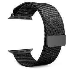 ส่วนลด วงจรแม่เหล็กชุบนาฬิกาแหวนรัดสเตนเลสสำหรับนาฬิกา 42มม สีดำ Unbranded Generic
