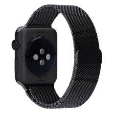 โปรโมชั่น Milanese Magnetic Loop สายแม่เหล็กโลหะสแตนเลส 42มม สำหรับนาฬิกา Apple Watches สีดำ