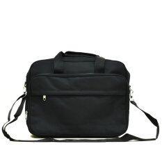 ซื้อ Mileskeeper กระเป๋าสะพายใส่เอกสารและโน๊ตบุ๊ค Black