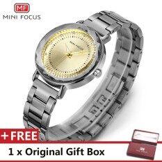 ขาย Mini Focus Top Luxury Brand Watch Famous Fashion Dress Cool Women Quartz Watches Calendar Waterproof Stainless Steel Wristwatch For Female Mf0040L 04 Fz1 Intl ใน จีน