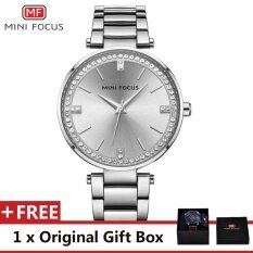 ขาย Mini Focus Top Luxury Brand Watch Famous Fashion Dress Cool Women Quartz Watches Calendar Waterproof Stainless Steel Wristwatch For Female Mf0031L Intl Mini Focus ใน จีน
