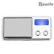 Mini Led Luminous Jewelry Scale Electronic Pocket Kitchen Weight Tool - Intl.