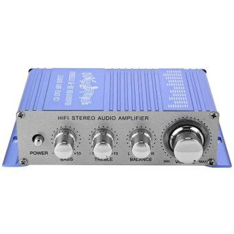 MiniCar HY - 2002 Hi-Fi 12V Mini Auto Car Stereo Amplifier 2 Channel Audio