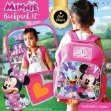 ซื้อ Minnie Mouse กระเป๋าเป้นักเรียน ขนาด12 ลิขสิทธิ์แท้จาก Disney รุ่น62148 Disney