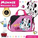 ราคา ราคาถูกที่สุด Minnie Mouse กระเป๋าสะพายไหล่ ลิขสิทธิ์แท้จาก Disney รุ่น61944