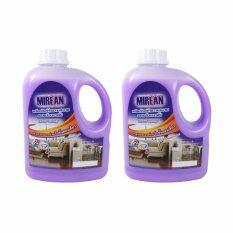 Mirean ผลิตภัณฑ์ถูพื้นเคลือบเงา มิรีน ขนาด 1 ลิตร แพ็คคู่ By Sure Chemical Supply