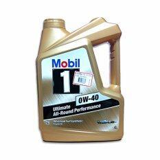 ซื้อ Mobil 1 น้ำมันเครื่อง Advanced Full Synthetic 0W 40 4 ลิตร ใน กรุงเทพมหานคร