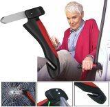 ขาย ซื้อ ออนไลน์ Momma 4 In 1 อุปกรณ์ ฉุกเฉิน นิรภัย พนักแขนช่วยพยุง Led ไฟคู่ นำทาง มีดตัดสายเบลท์ ค้อนทุบกระจก 4 In 1 Car Cane Emergency Portable Handle Led Flashlight Seatbelt Cutter Windows Breaker