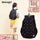 Momogirl กระเป๋าเป้สะพายหลัง โน๊ตบุ๊ค กันน้ำได้ รุ่น M5114 Black Butterfly Momogirl ถูก ใน กรุงเทพมหานคร