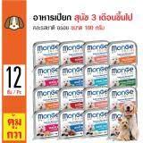 ซื้อ Monge อาหารเปียกสุนัข คละรสชาติ อร่อย สำหรับสุนัข 3 เดือนขึ้นไป ขนาด 100 กรัม X 12 ถาด ใน กรุงเทพมหานคร