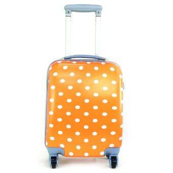 MOOF กระเป๋าเดินทางล้อลาก 4 ล้อ ขนาด 16 นิ้วรุ่น N003 - Orange