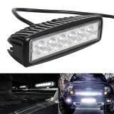โปรโมชั่น Moonar 18W Waterproof Spotlight Led Atv Off Road Fog Light Bar For Suv Truck Tractor Intl จีน