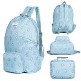ขาย Mori กระเป๋าเป้สะพายหลังแบบพับได้ กระเป๋าเป้ กระเป๋าเป้สะพายหลัง กระเป๋าพับได้ กระเป๋าเป้เกาหลี กระเป๋าเป้แฟชั่น Backpack Travel Folding Bag Fashion Bag Korean Style Bag Blue สีฟ้า ใหม่