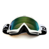 ส่วนลด Motocross Off Road Trials Enduro Helmet Atv Dirt Bike Motorcycle Goggles Eyewear Silver